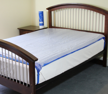 Double Mattress Overlay